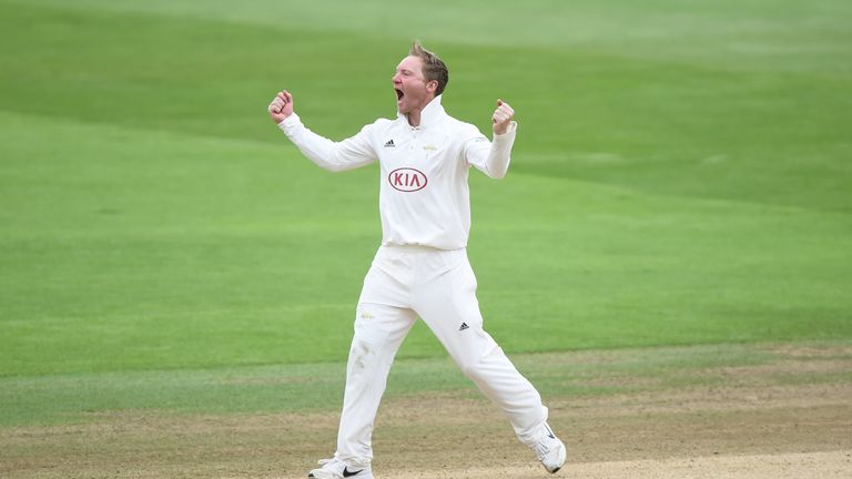 Gareth Batty has taken 19 wickets in five matches for Surrey in Division One this season