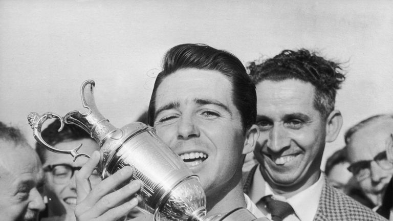 Gary Player also won The Open in 1968 and 1974