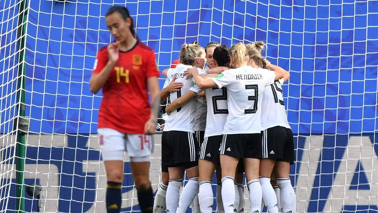 Germany are unbeaten in their last 18 Women's World Cup group stage games