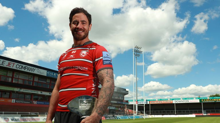 Fly-half Danny Cipriani scooped an awards double after assisting more tries - 13 - than any other player in the Premiership to lead his side to third place