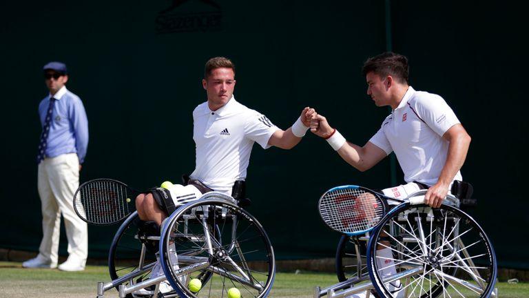 Gordon Reid and Alfie Hewett determined to make mark at French Open | Tennis News |