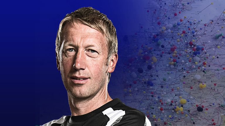 Graham Potter has joined Brighton from Swansea after impressing in Sweden