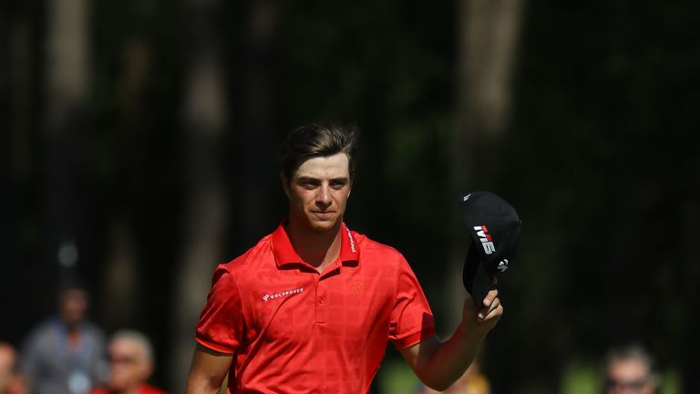 Victory is Migliozzi's second in his 20th European Tour start