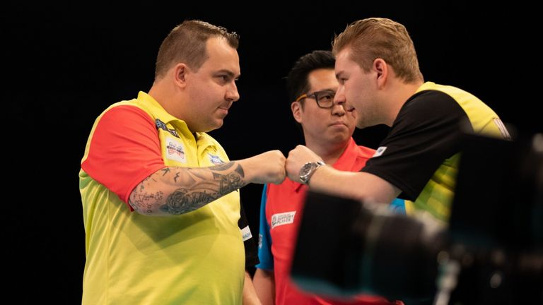 Huybrechts and Van den Bergh are competing in their second World Cup as a pairing