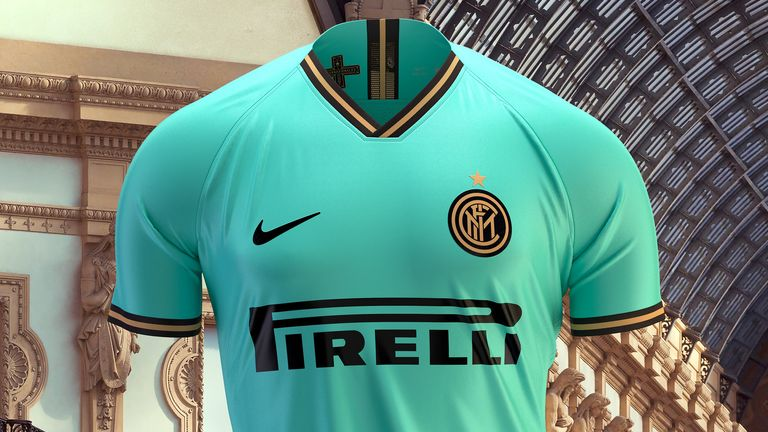 Nike have made Inter's aquamarine away strip