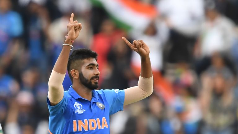 India seamer Jasprit Bumrah took two early wickets against South Africa