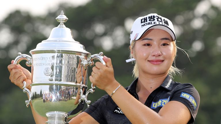Jeongeun Lee6 is the holder of the US Women's Open