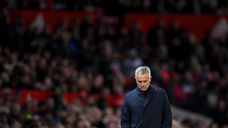Jose Mourinho was sacked from United in December 2018