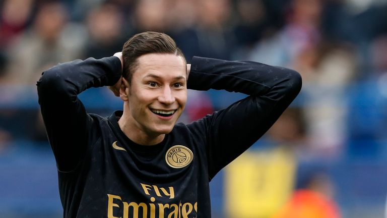 Julian Draxler is willing to fight for his place at Paris Saint-Germain