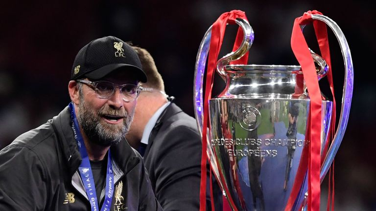 Klopp led Liverpool to the Champions League last season