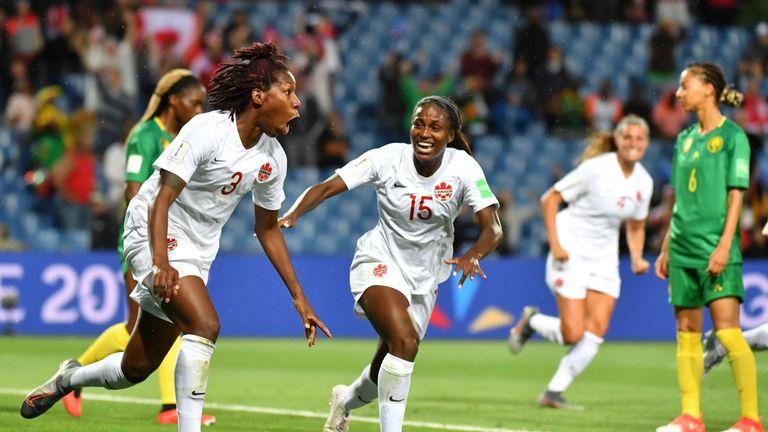 Kadeisha Buchanan scored the only goal of the game for Canada Women