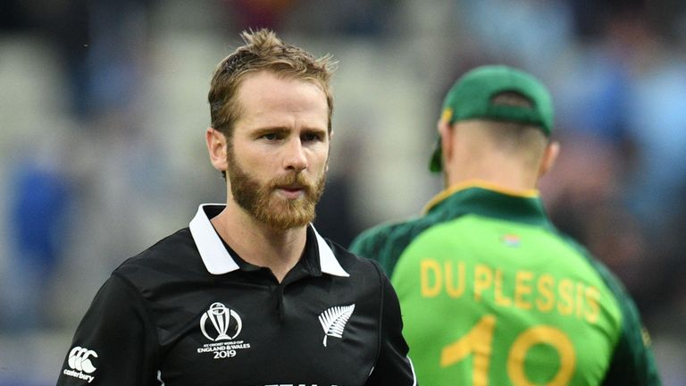 Williamson hit just one six in his stellar knock