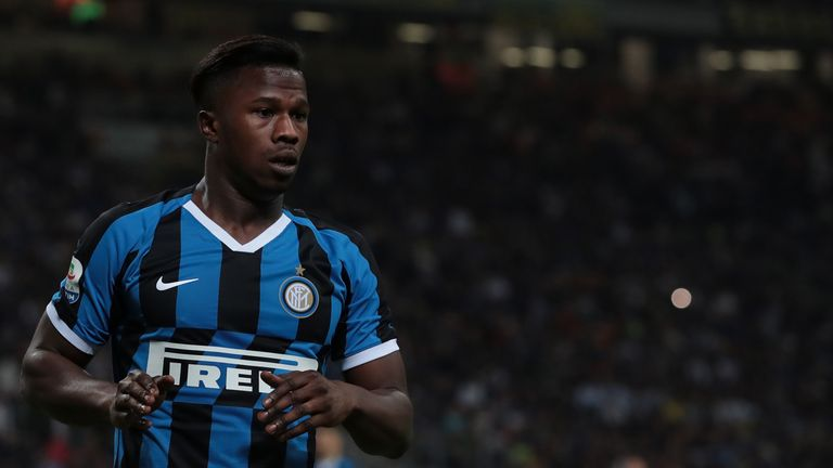Keita Balde spent last season on loan at Inter Milan, but Sky Sports News understands he will not be joining the Italian side on a permanent deal