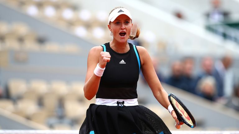 Kristina Mladenovic has pedigree. She is ranked No 1 at doubles in the world