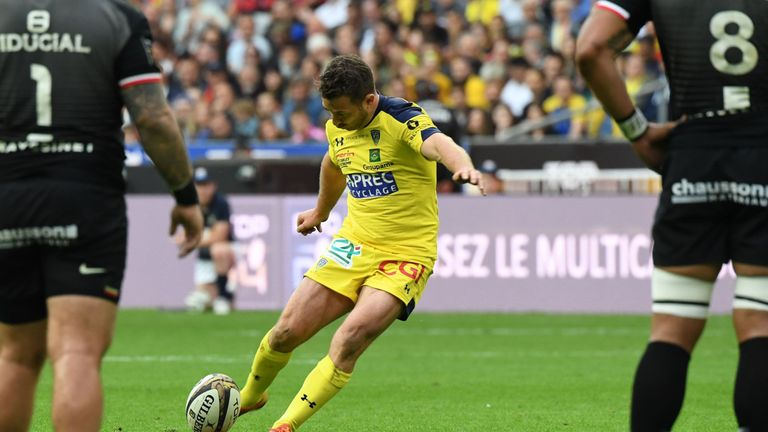 Greig Laidlaw kicked 15 of Clermont's points off the tee
