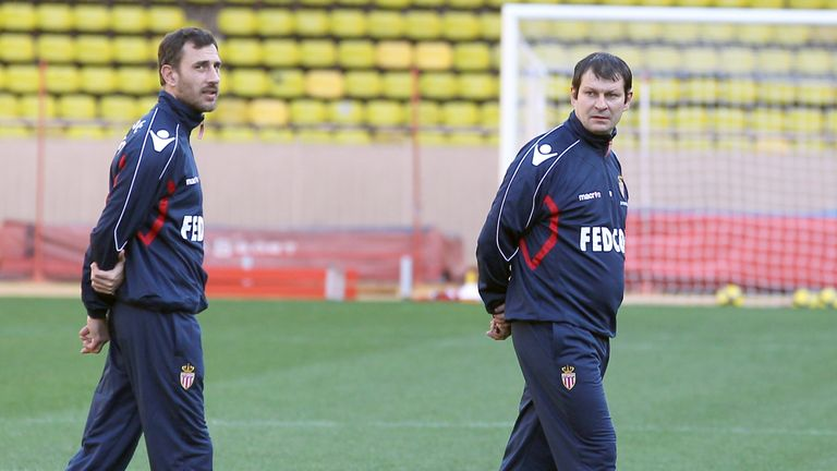 Laurent Banide had two spells in charge at Monaco
