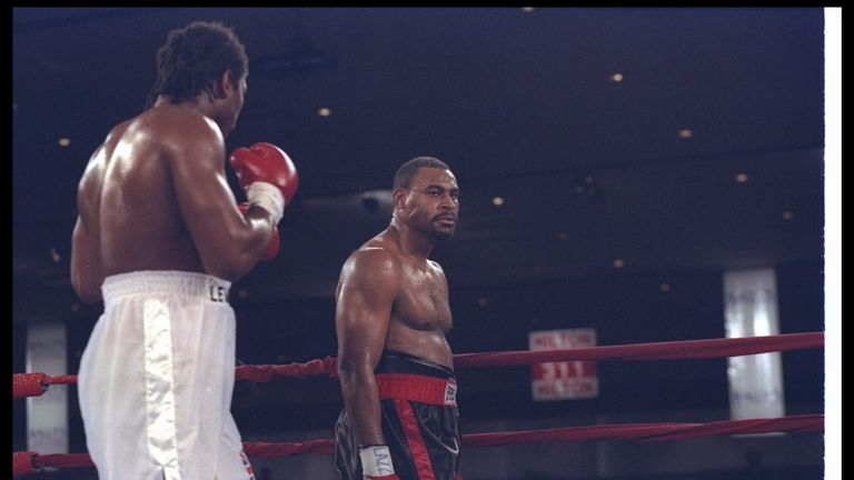 Lewis regained his WBC title after Oliver McCall suffered a mid-fight breakdown