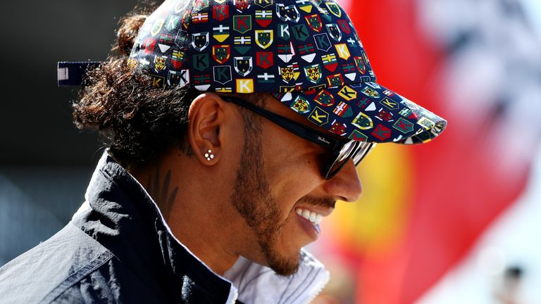 Hamilton's current Mercedes contract expires before the next regulation change