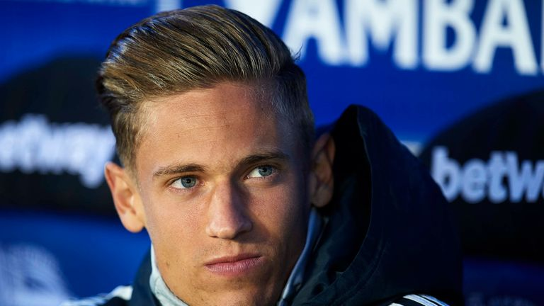Marcos Llorente agrees to join Atletico Madrid from Real Madrid