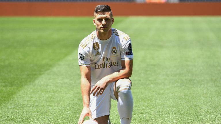 Luka Jovic isn't likely to leave Madrid on loan this summer