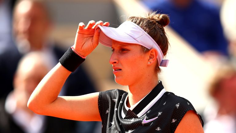 Vondrousova reached her maiden Grand Slam final at the age of 19