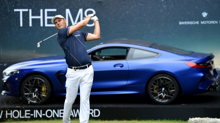 Home Favourite Martin Kaymer Takes Two Shot Lead At Bmw