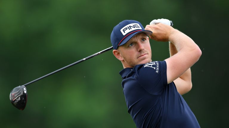 Defending champion Matt Wallace opened with a solid 69