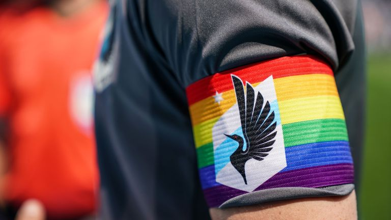 Minnesota United and the other MLS clubs are marking Pride month by taking part in the 'Soccer For All' initiative