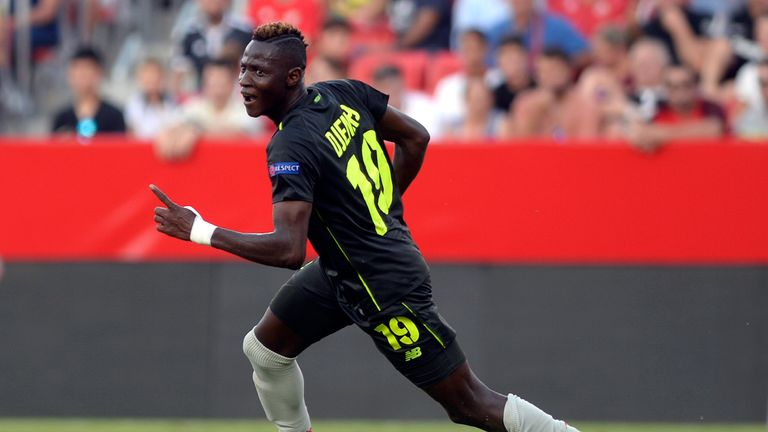 Moussa Djenepo joined Standard Liege in January 2017