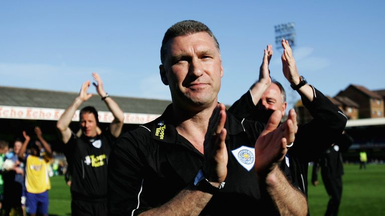 Pearson guided Leicester to promotion from League One in 2009
