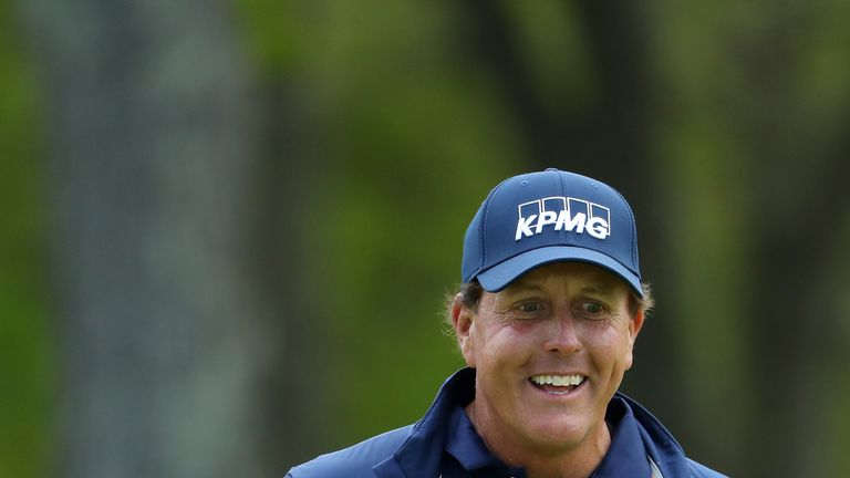 Mickelson's 26-year streak inside OWGR top 50 ends