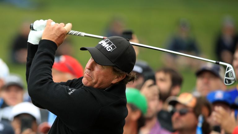 Mickelson won the Masters three times and then both the PGA Championship and The Open