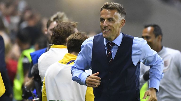 Phil Neville has taken England to the World Cup semi-finals in his debut tournament as manager