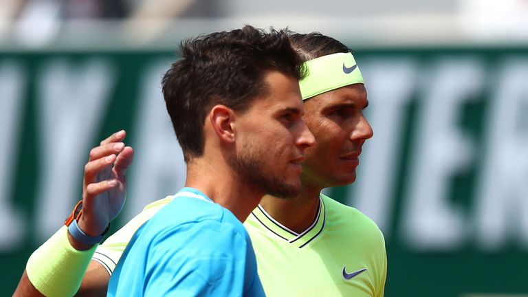 Dominic Thiem managed to take a set off Nadal in the French Open final on Sunday