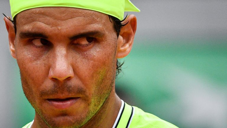 Rafael Nadal kept his iron grip on the Coupe des Mousquetaires