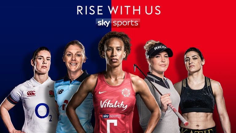 2019 represents the biggest line up of women's sport ever on Sky Sports