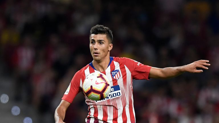 Rodri in action for Atletico Madrid