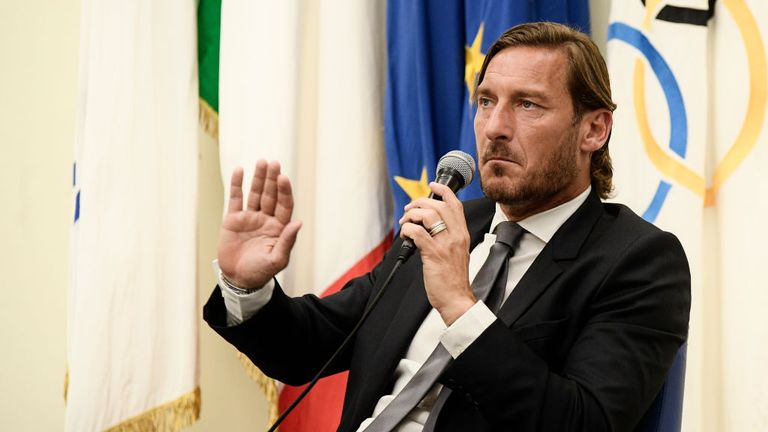Totti says he was 'excluded from every decision' at Roma