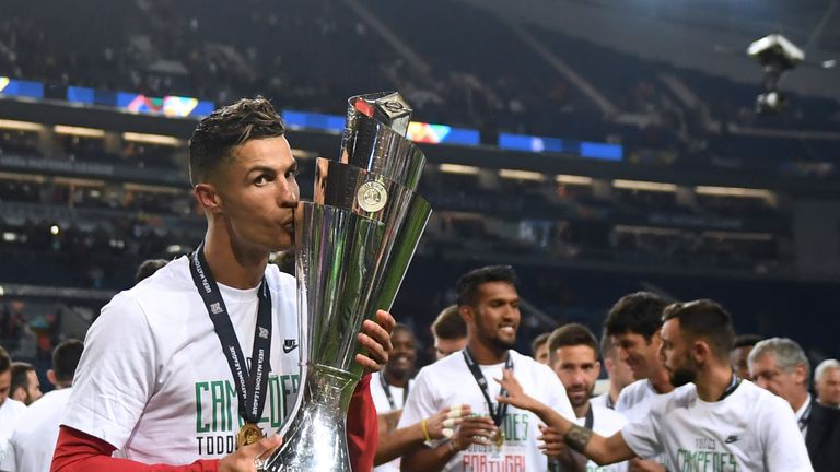 Host nation Portugal lifted the 2019 Nations League trophy