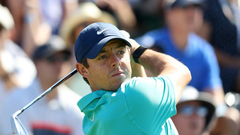McIlroy registered a seven-shot win last week at the Canadian Open