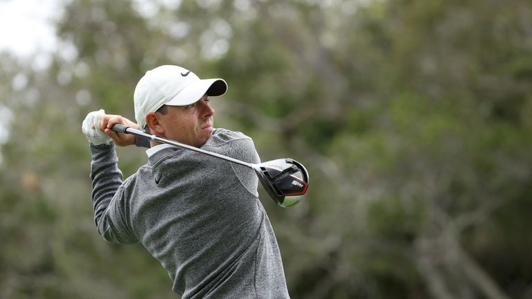 McIlroy sits in a share of fourth at the halfway stage