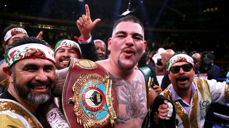 Andy Ruiz Jr became the first-ever Mexican-American heavyweight champion with his win on Saturday