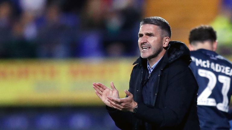 Ryan Lowe guided Bury to promotion from Sky Bet League Two last season