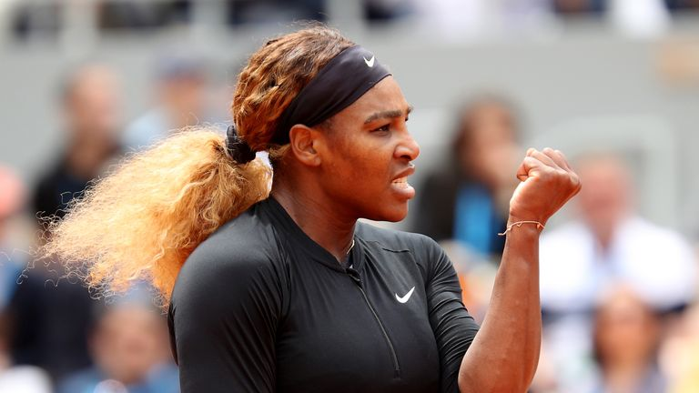 Serena Williams is the only female athlete on the list
