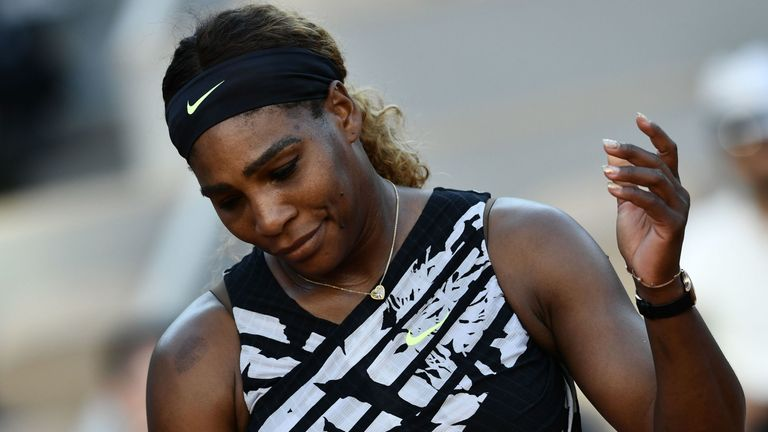 Serena Williams was beaten by 20-year-old Sofia Kenin