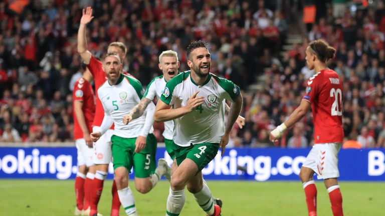 Shane Duffy misses out on selection for Ireland