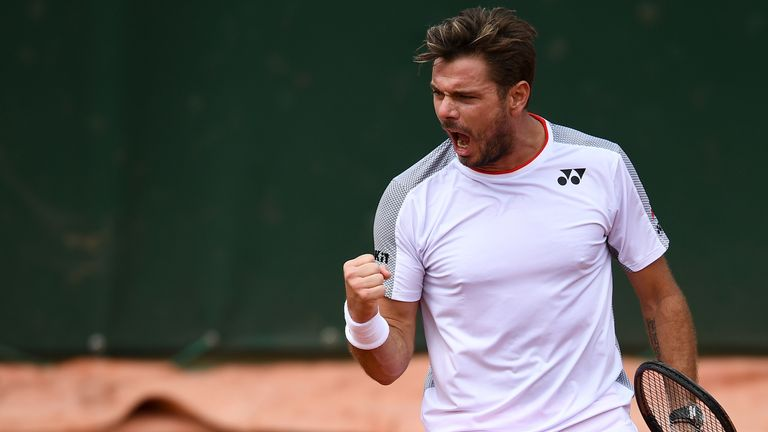 Stan Wawrinka sealed his 500th career win in three tight sets on Saturday