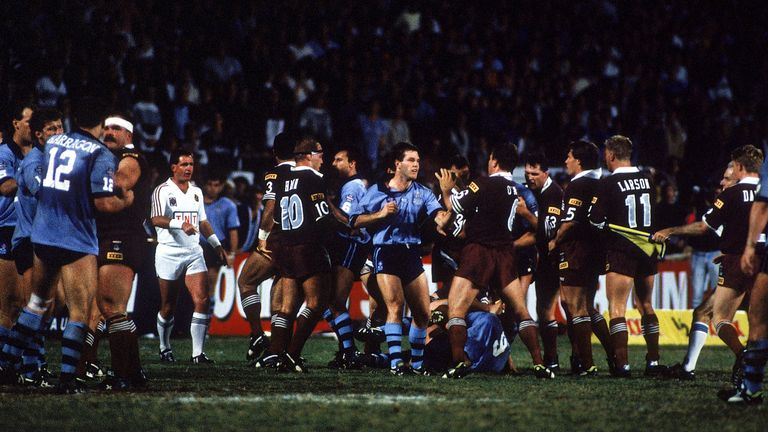 State of Origin games have always proved fiery affairs