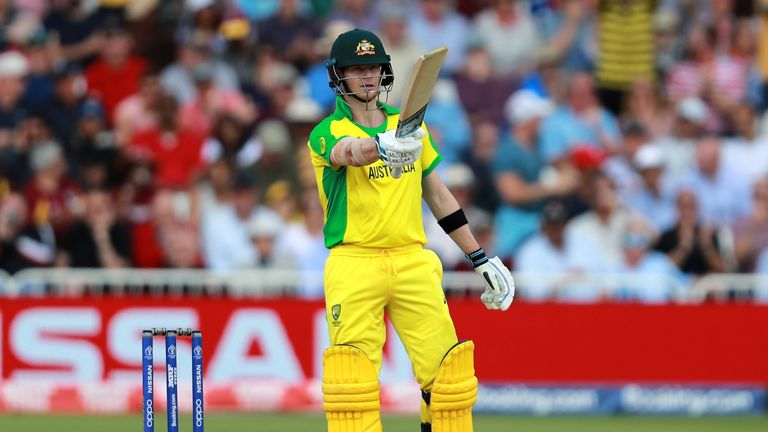 Smith was given a hostile reception by a section of India fans at The Oval