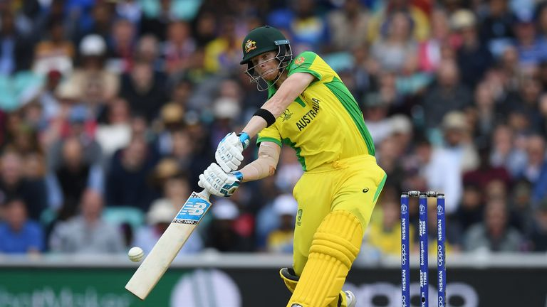 Steve Smith has a high score of 73 in the World Cup so far